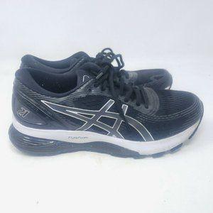 Asics Womens Gel Nimbus 21 1012A156 Black Running